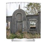 Castle Swan Hill Shower Curtain