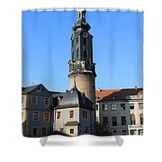 Castle Tower And Castle Weimar Shower Curtain
