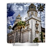 Castle Towers Shower Curtain