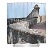 Castle Walls 2 Shower Curtain