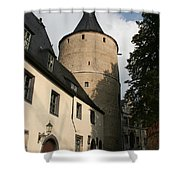 Castle Yard Shower Curtain