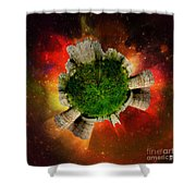 Castles In The Air Shower Curtain
