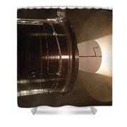 Castor 30 Rocket Motor Shower Curtain