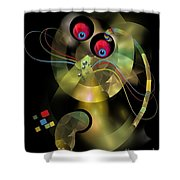 Cat 005-13 Marucii Shower Curtain