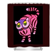 Cat #4 Shower Curtain