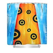 Cat 649 - Marucii Shower Curtain