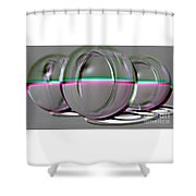 Cat Eyes - Embossed Shower Curtain