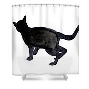 Cat I Shower Curtain