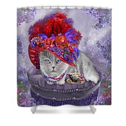 Cat In The Red Hat Shower Curtain