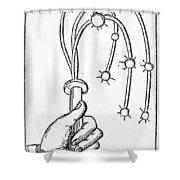 Cat-o'-nine-tails, 1552 Shower Curtain