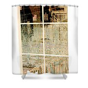 Cat Perspective Shower Curtain