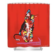 Cat Prins Shower Curtain