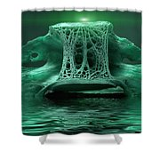 Catacombs 2 Shower Curtain