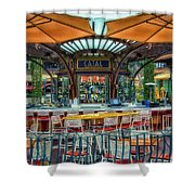 Catal Outdoor Cafe Downtown Disneyland 01 Shower Curtain