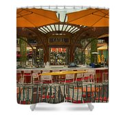 Catal Outdoor Cafe Downtown Disneyland 02 Shower Curtain