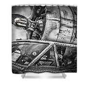 Catalina Pby-5a Miss Pick Up Cockpit Shower Curtain