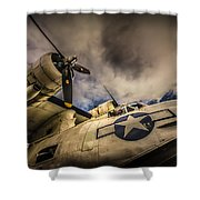 Catalina Pby-5a Miss Pick Up Low Angle Shower Curtain