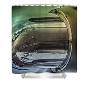 Catalina Pby-5a Miss Pick Up Nacelle Reflection Shower Curtain