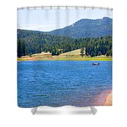 Catamount Fishermen Shower Curtain