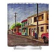 Catano Puerto Rico Street Shower Curtain