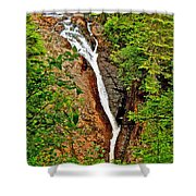 Cataract On North Harbour-nl Shower Curtain