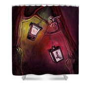 catch me if I fall Shower Curtain