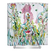 Catch Me - Lover And Follower-my Hearts Are Burning Shower Curtain
