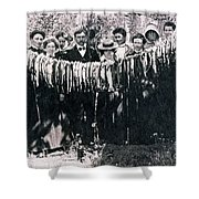 Catch Of The Day 1901 Shower Curtain