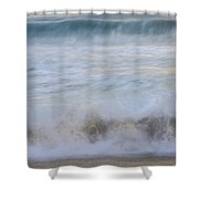 Catch The Waves Shower Curtain