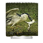 Catching Supper Shower Curtain