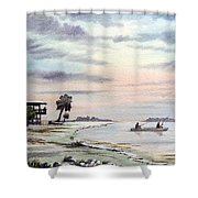 Catching The Sunrise - Hagens Cove Shower Curtain