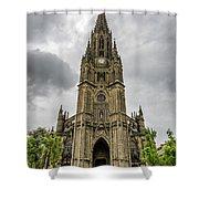 Catedral Del Buen Pastor Shower Curtain
