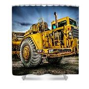 Caterpillar Cat 623f Scraper Shower Curtain