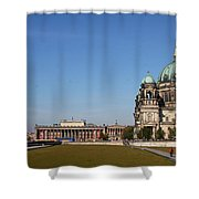 Cathedral And Humboldt Box Shower Curtain