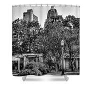 Cathedral And Rsa Shower Curtain