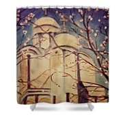 Cathedral At Springtime Shower Curtain