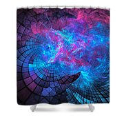 Cathedral Calamity Shower Curtain