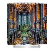 Cathedral Chapel Shower Curtain
