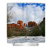 Cathedral Sugar Shower Curtain