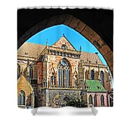 Cathedral Colmar France Shower Curtain
