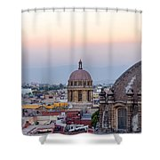 Cathedral Dome And City Shower Curtain