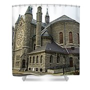 Cathedral In Buffalo Shower Curtain