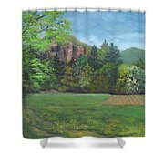 Cathedral Ledge From Westside Road Shower Curtain