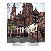 Cathedral - Mainz Shower Curtain