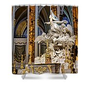 Cathedral Of Chartres Altar Shower Curtain