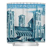 Cathedral Of Laon Shower Curtain