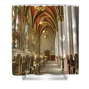 Cathedral Of Saint Helena Shower Curtain