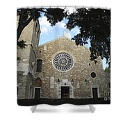 Cathedral Of San Giusto Shower Curtain