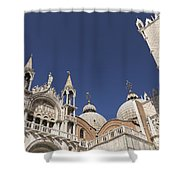 Cathedral Of San Marco  Shower Curtain