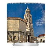 Cathedral Of Split Diocletian Palace Shower Curtain